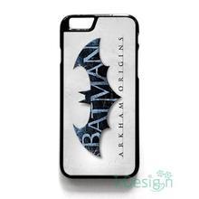 Fit for iPhone 4 4s 5 5s 5c se 6 6s 7 plus ipod touch 4/5/6 back skins cellphone case cover BATMAN ARKHAM ORIGINS LOGO