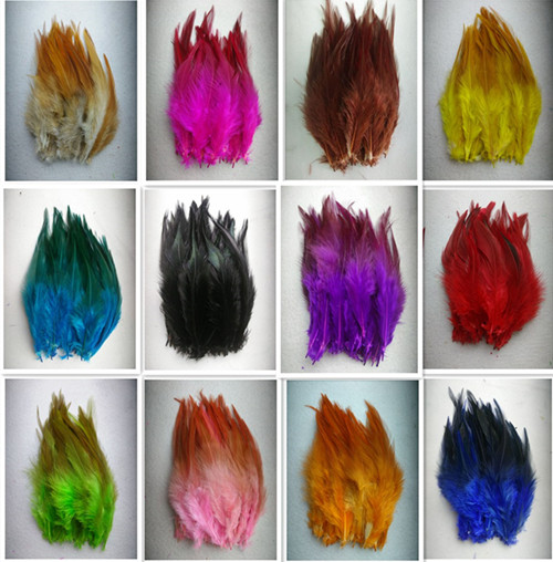 """Sale 100pcs / lot high quality pheasant feather, 4-6 """"/ 10-15cm, natural color and dyed feathers, DIY jewelry accessories(China (Mainland))"""