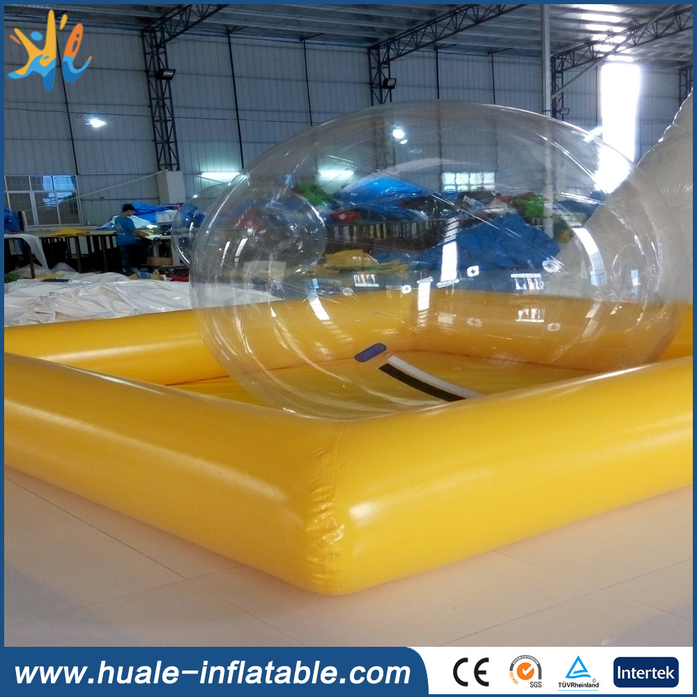 2016 Hot selling Best quality Cheap inflatable Yellow swmming pool for kids for fun(China (Mainland))