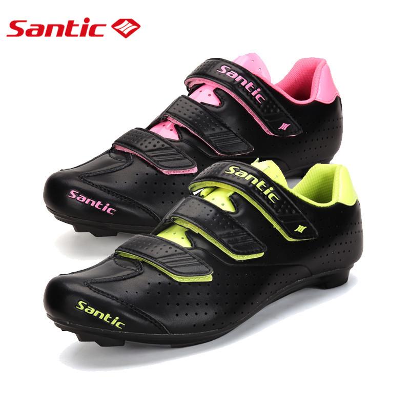 Фотография Santic Cycling Shoes Nylon Sole Road Racing Cycling Shoes for Men & Women Bike Shoes zapatillas Free Shipping by E-EMS S12020