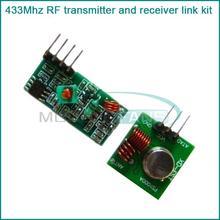 86077 1Lot= 5 pair (10pcs) 433Mhz RF transmitter receiver Module link kit Arduino/ARM/MCU WL diy 433mhz wireless - ElectronicFans store
