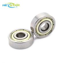 3D Printer Parts Mini Bearing 624ZZ 4 * 13 * 5 mm Single Row Ball Bearing Steel 3D Ptinter Accessories
