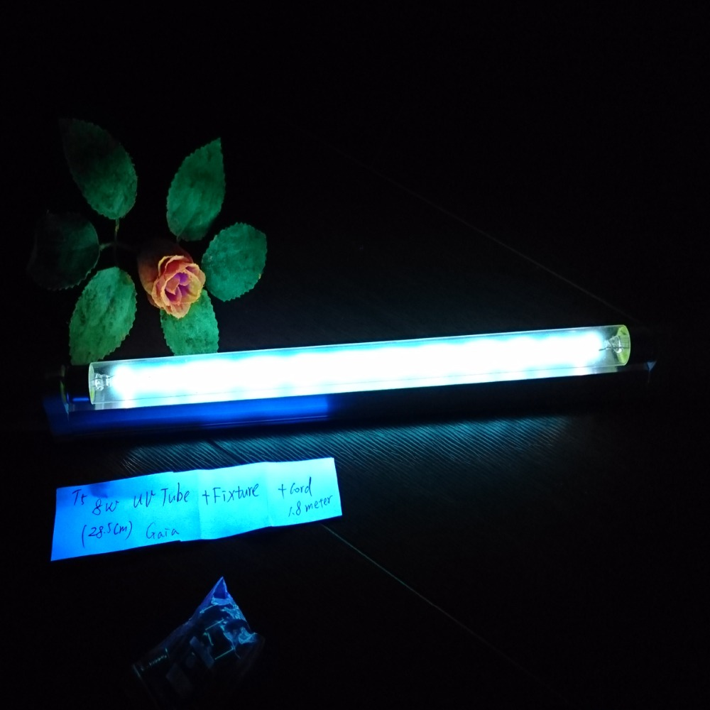 AC110v- 120v T5 Linaer UVC Germicidal CFL Lamp Kit, Compact Germicidal Bulb UV + OZONE For Household Medical Sterilizer(China (Mainland))