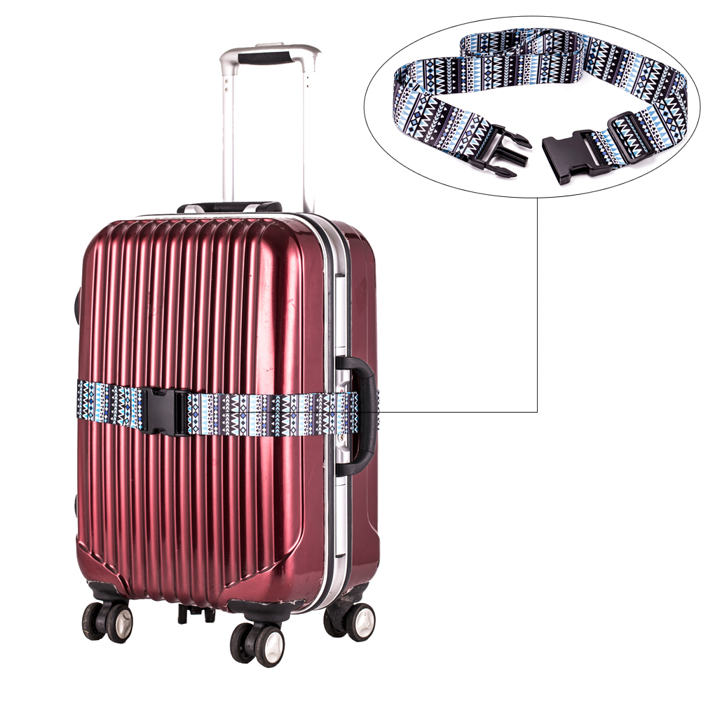 200cm x 5cm Travel Luggage Strap Belt Adjustable Suitcase Straps Buckle Packing Personalized Strap with High Quality(China (Mainland))