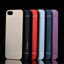 4s Luxury Hard Aluminum Metal frame Case for Apple iphone 4 4s Phone Accessories Hard Cover with Logol on Back