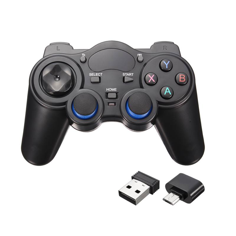 New 2.4GHz Wireless Game Controller Gamepad Joystick For Android TV Box PC GPD XD New w/ OTG Converter Computer Game Controllers(China (Mainland))