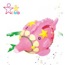 CMD the gypsum painted toys children educational diy painting graffiti toys The birthday gift(China (Mainland))