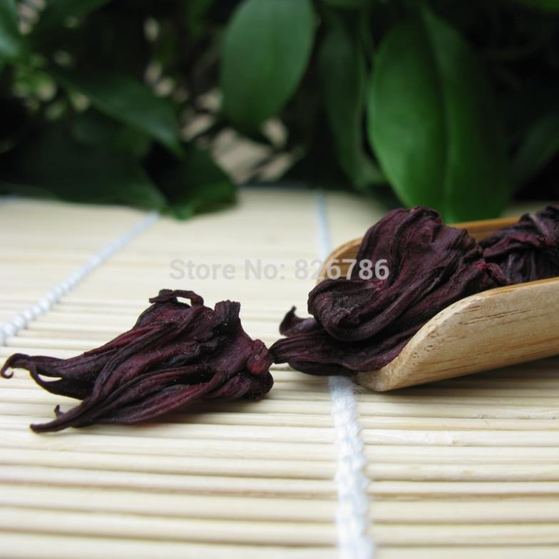 50g Roselle tea natural Sugar free herbal tea selection of premium beauty whitening healthy sulfur free