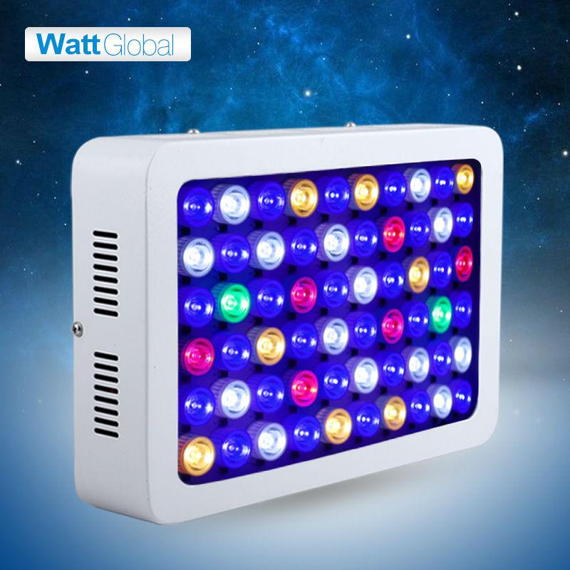 Dimmable Led Aquarium Light 180W Hydroponics spectrum light for Marine plants Aquarium led lighting controller for reef coral(China (Mainland))