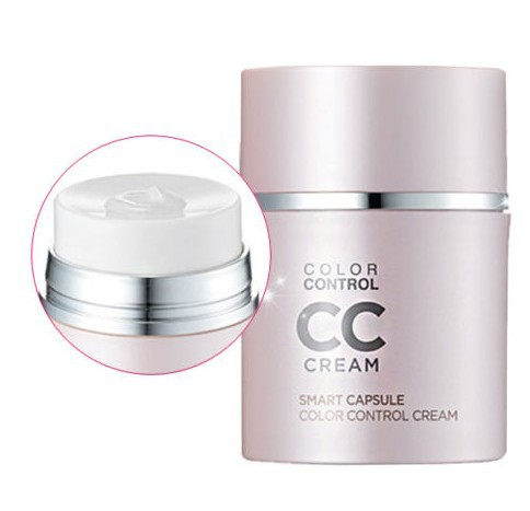 Magic Colour Change CC Cream 30ml Face it Smart Capsule Cream SPF40 PA++ CC Cream Summer UVblock Anti wrinkle Wholeale(China (Mainland))