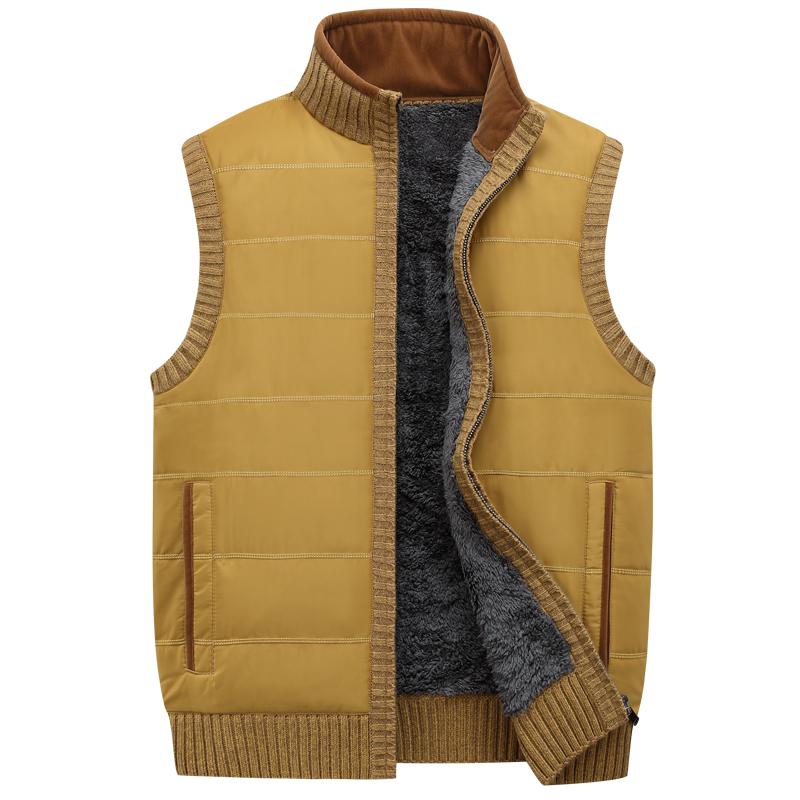 Hot Sale Men Vest Casual Zipper Plus Size Men Vest Jacket Homens Colete Sleeveless Shirt Men's Waistcoats Gilet Homens Colete(China (Mainland))