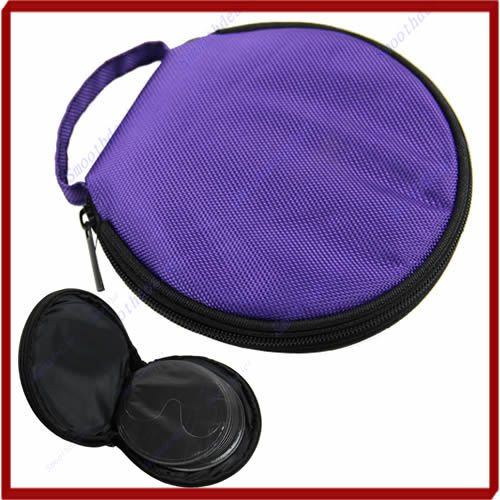 Free Shipping New Arrive Purple Home Car Zip Up DVD CD Discs Holder Pocket Storage Case Bag<br><br>Aliexpress