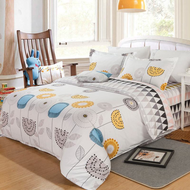 comforter set comforter bedding sets 4pc light flowers