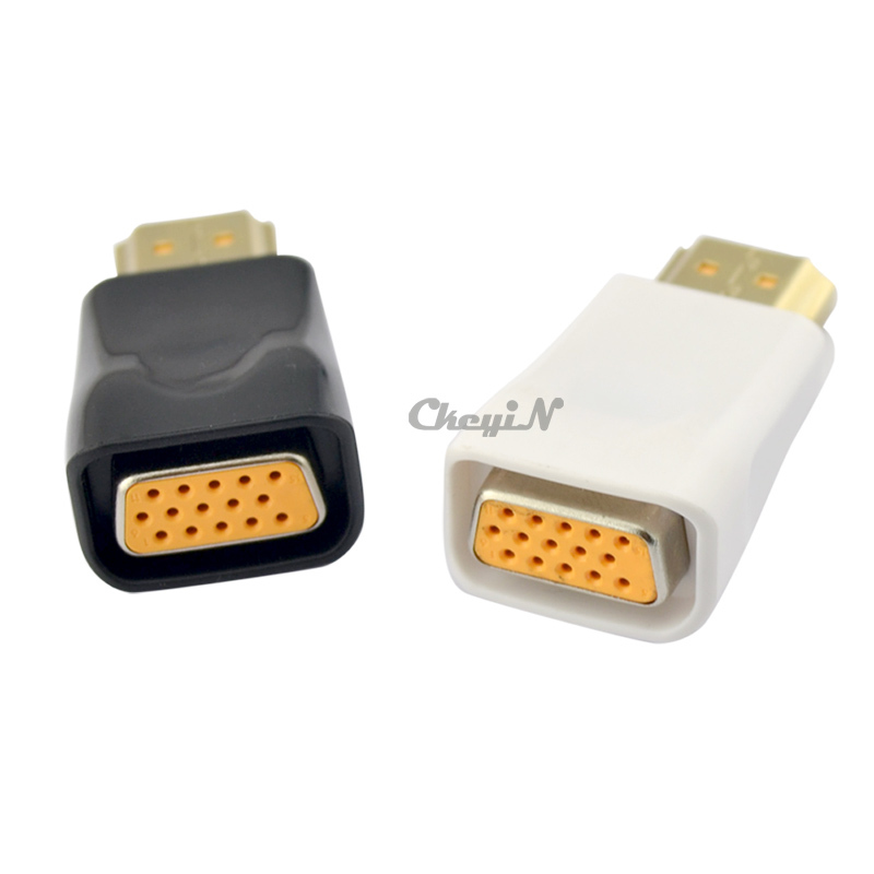 New Arrival 720P 1080i 1080P Hdmi To Vga Adapter HDMI Male To VGA Female Converter For Notebook Pc DVD etc. 0.3-DDA53(China (Mainland))