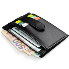 Buy Famous Brand Men Genuine Leather Credit Card Holder Unisex ID Card Case Bank Cards Wallets Large Capacity Business Purse Holder for $21.98 in AliExpress store