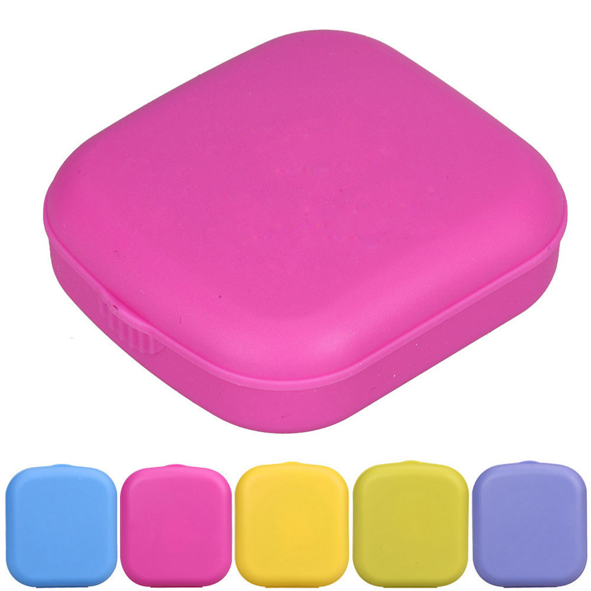 Home Wider Factory Price New Cute Mini Contact Lens Easy Carry Case Travel Kit oct105 Drop Shipping(China (Mainland))