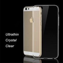 """Ultrathin i6 Cover For iphone 6 Transparent Soft Silicone Coque iphone6 phone cases Crystal TPU 4.7"""" Case For iPhone 6s Fundas(China (Mainland))"""