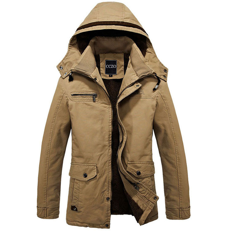 Men Jacket Outerwear Zipper Male Casual Coat Autumn Clothing Solid Long Sleeves Cotton Jackets Plus size 4XL Outdoor Coats(China (Mainland))