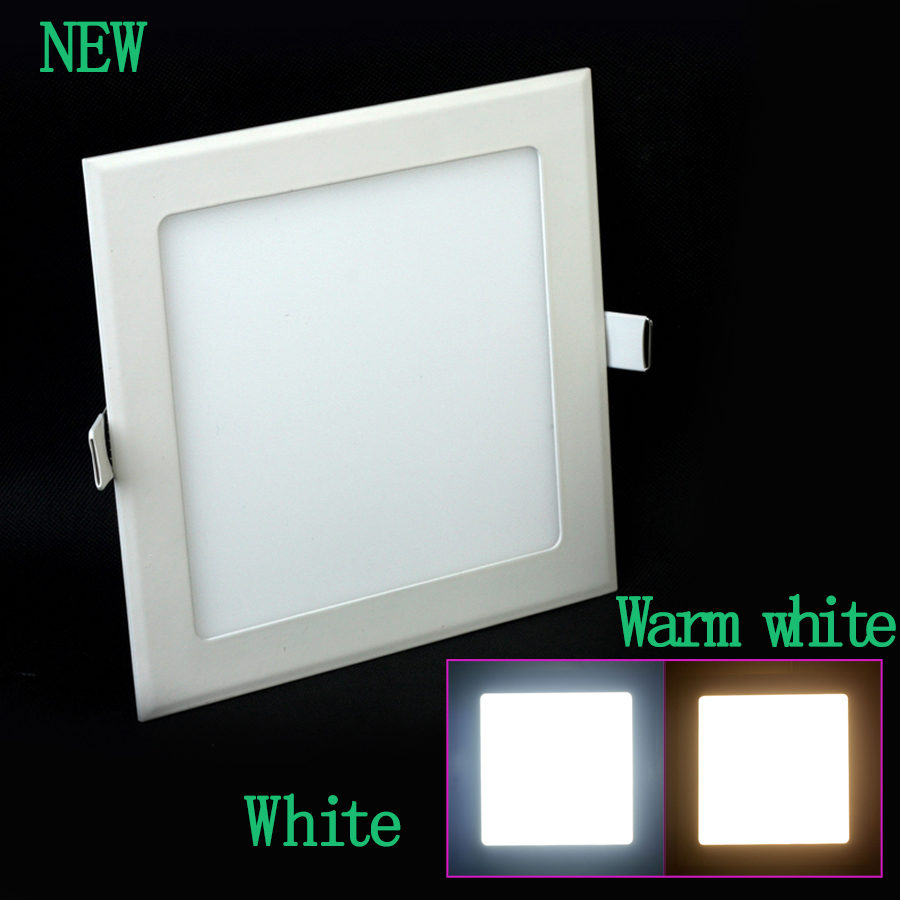 1pcs AC 86-265V 3W/4w/6w/9w/12w/15w/ SMD2835 Square led Ceiling Panel Light Wall Recessed Free Shipping<br><br>Aliexpress