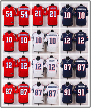 Hot New England / Top quality For Mens, Home Away Julian Edelman Tom Brady Malcolm Butler Rob Gronkowski BH-8 camouflage(China (Mainland))