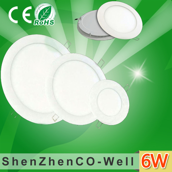 LED Panel Round 18W/15W/12W/9W/6W/3W Bright CREE LED Drop Ceiling Panel Light,Down Lamp for home,warmwhite/white/Neturalwhite(China (Mainland))