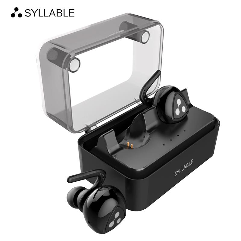 SYLLABLE D900MINI Bluetooth V4.1 Headset Fone de Ouvido Bluetooth Earphone Strong Bass Iphone 7&7 Plus/Xiaomi/Samsung