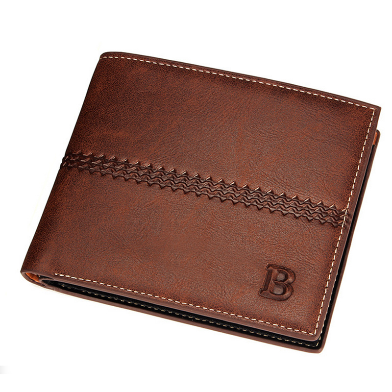 Mens Leather Purse Fashion Quality Guarantee Famous Brand Wallet Male Clutch Money Bag Porte Monnaie Homme Wallet Leather HOT !(China (Mainland))