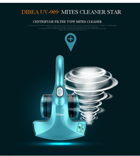 Mites Cleaner Father's Gifts Dibea UV-909 Big Sales Positive Ions for Sofa Mattress Cloth Family(China (Mainland))