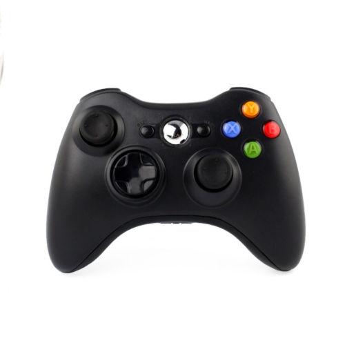 Original Refurbished Black Wireless Gamepad Game Pad Controller for Xbox 360(China (Mainland))