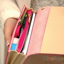 Women Lady Fashion Accessories Envelope Card Coin Wallet Leather Purse Case Cover Bag For Samsung Galaxy