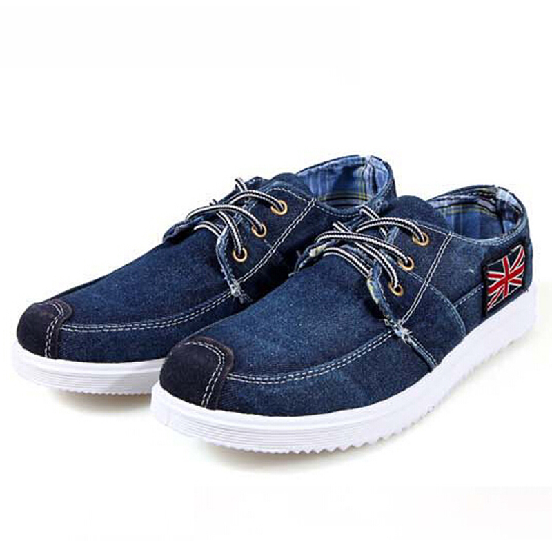 2016 new flag patchwork washed shoes