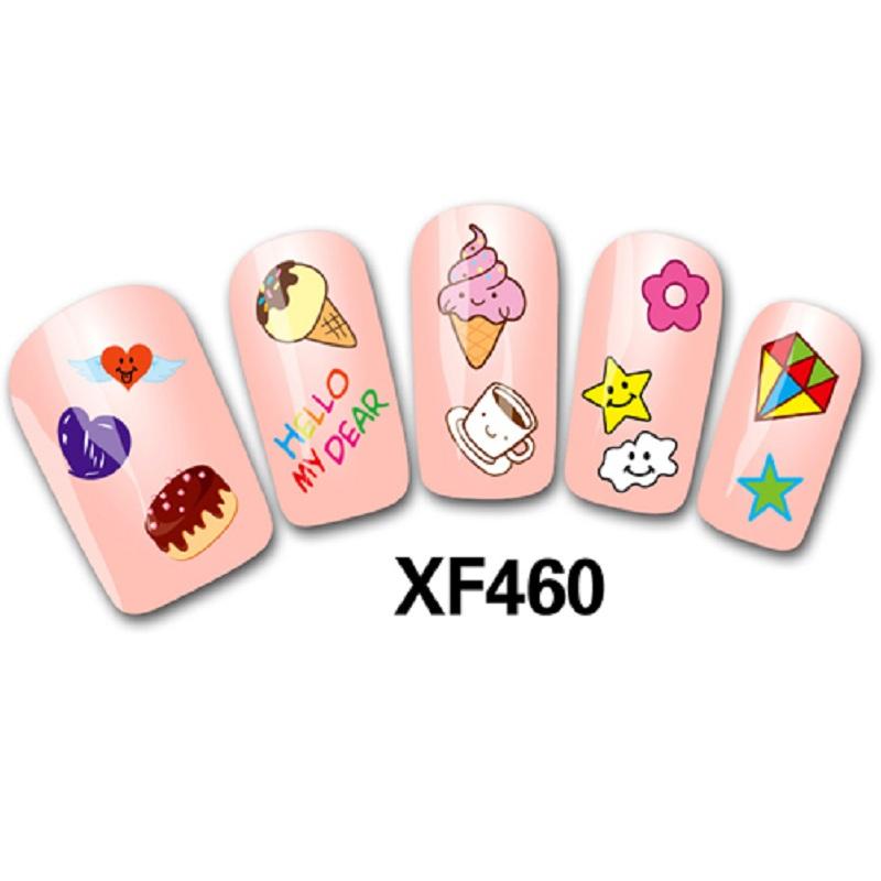 Гаджет  Fashion 3D cute DIY Cartoon colorful Diamonds Icecream Nail Art Sticker Decal Manicure Tips Decor Tools Sell Hotting None Красота и здоровье