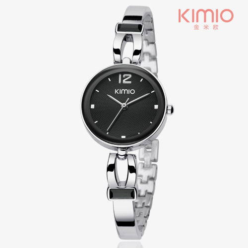 relogio feminino KIMIO women watch Hollow Out Stainless Steel Faceted Crystal Diamond Watches Top Brand MIYOTA Movt Wristwatch(China (Mainland))