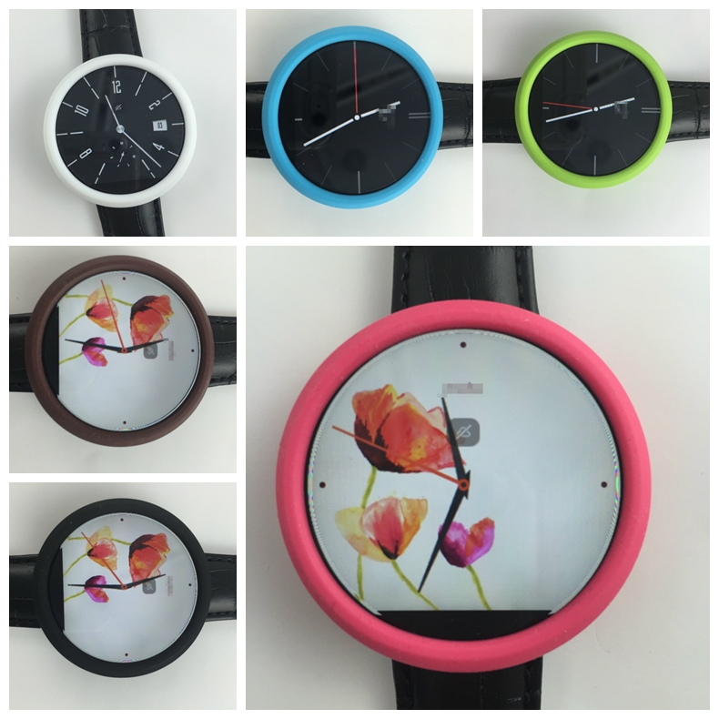 Screen Protective Protect Circle FOR MOTO 360 Smart Watch High Quality Silicone YXT0711(China (Mainland))