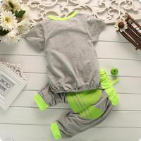 conjuntos пальто o шее новый милый ребенок 100% хлопок костюм одежда наборы Хань издание продать как t879 торты