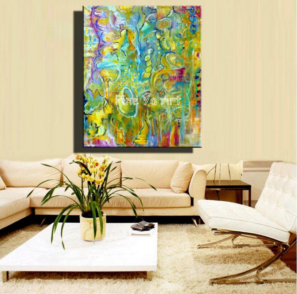 Buy Big Abstract Modern Canvas Wall Art Decorative
