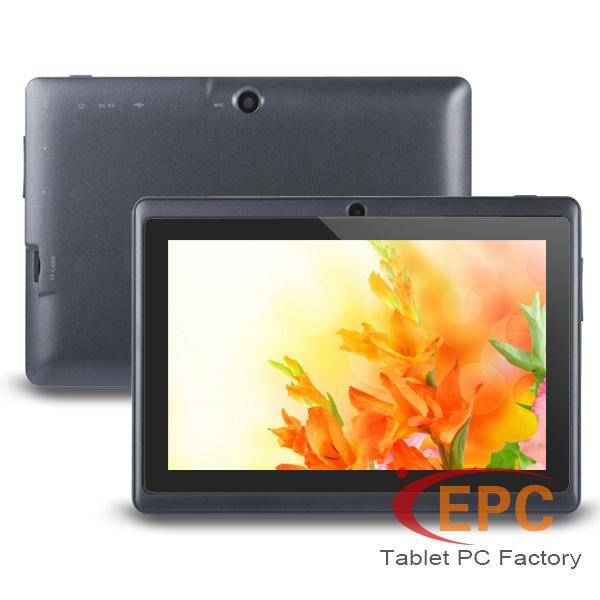 "Cheap 7"" Tablet PC Q88 Allwinner A23 Screen 800x480 Dual Core 512MB+4GB Russian Multi Language WIFI OTG Tablets(China (Mainland))"