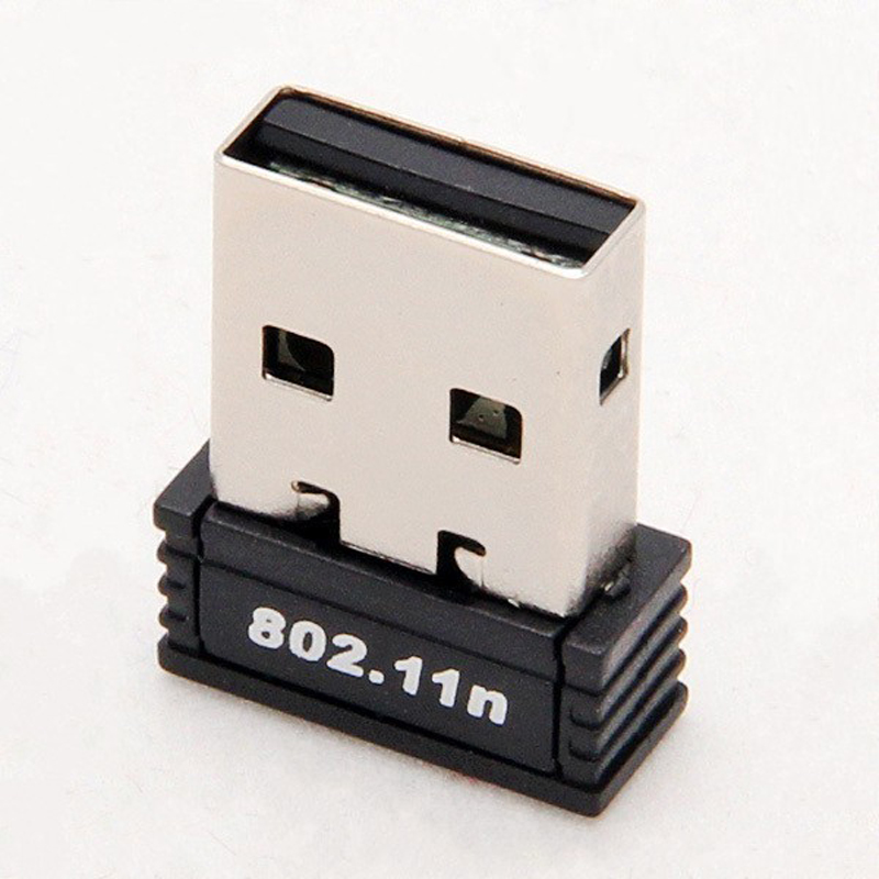 WiFi Adapter Mini USB 802.11 b/g/n Wi-Fi Dongle High Gain 150Mbps Wireless Antenna Wifi for computer Phone(China (Mainland))