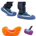 New Arrival 1pcs 3 Colors Dust Mop Slipper House Cleaner Lazy Floor Dusting Cleaning Foot Shoe