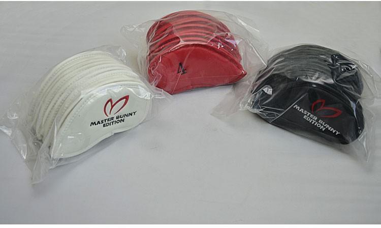 9pcsset MasterBunny Golf headcover PU putter clubs headcoverf Golf Club Head Iron Headcovers Protective Headcovers waterproof04
