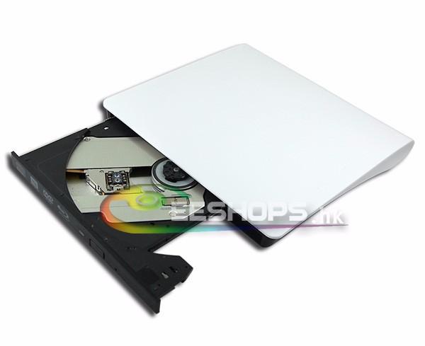 New Ultrathin External USB 3.0 6X 3D BD-RE DL Blu-ray Burner Portable DVD Drive for Dell Alienware 15 17 R2 R3 FHD Gaming Laptop(Hong Kong)