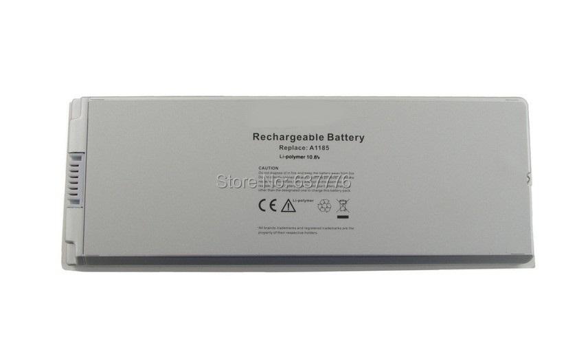 """Laptop Battery For apple MacBook 13"""" MA254 MA255 MA699 MA700 A1185 MA561 MA561FE/A MA561G/A MA561J/A white(China (Mainland))"""