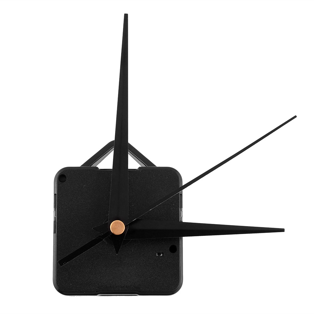 Classic Black Triangle Hands Quartz Clock Movement Mechanism Parts Repair DIY Essential Tools Silent(China (Mainland))