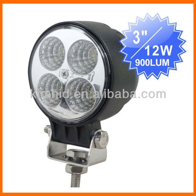 Lightstorm! Factory price! 36 months warntly 12W LED work light 4x4 off road car led light 12W LED  work light  free shipping
