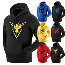 Pokemon Hoodie for Fall Winter 2016 Hot Sale Pokemon Go Hoody Various Colors