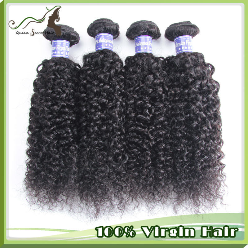 Natural color best 5A quality long lasting 3pcs a lot shipping free malaysian hair kinkly curly hair weave<br><br>Aliexpress