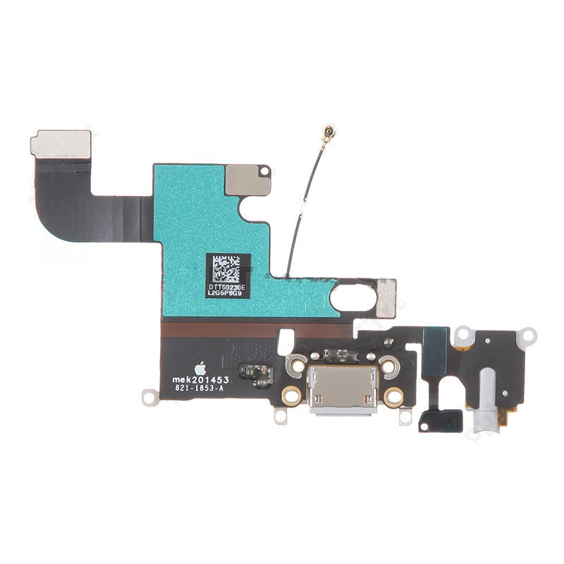 USA Free shipping OEM for Apple iPhone 6 4.7 inch Dock Connector Usb Charging Port Flex Cable Ribbon White/Grey(China (Mainland))