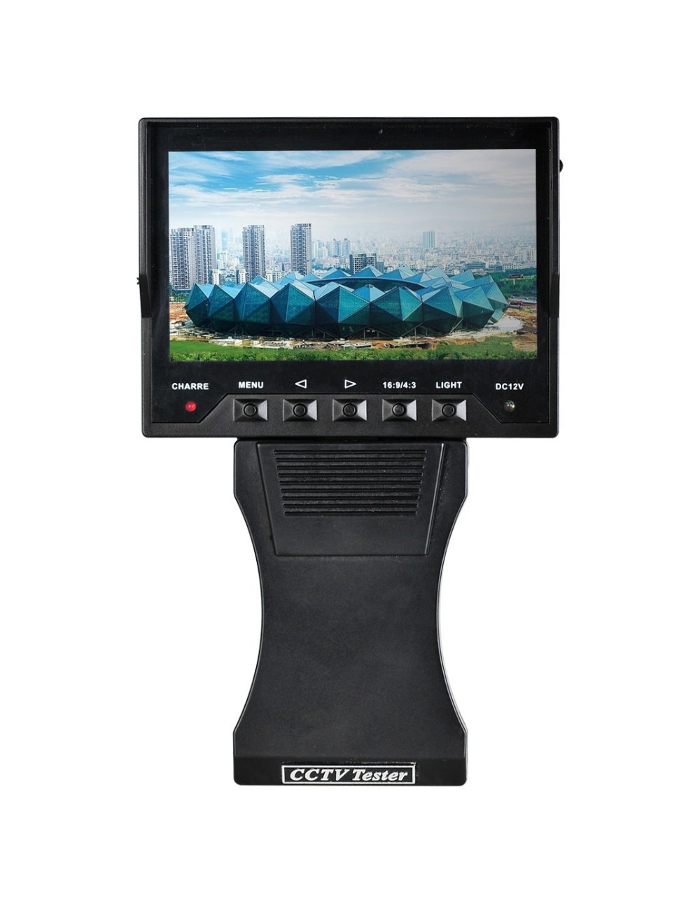 "4.3"" inch TFT LCD Audio Video Security Tester CCTV Camera Test Monitor Portable Free Shipping(China (Mainland))"