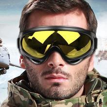 УФ-защита Супер Спорт Лыжная сноуборде Skate очки очки Открытый Мотоцикл Off-Road лыж Очки Goggle Очки Объектив