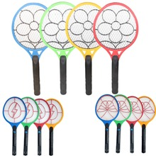 1Pcs New Electronic Mosquito Racket Fly Racket Handled fly Racket Electric Bug Zappers Mosquito Kill Swatter Zapper NVIE(China (Mainland))